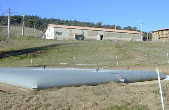 Cisterna para el estiércol 200 m3
