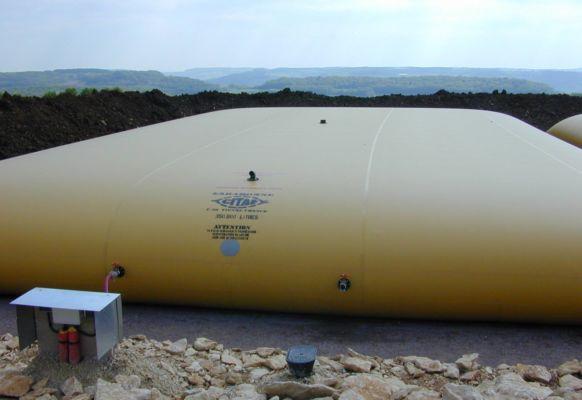 Cisterna para agua 350 m3