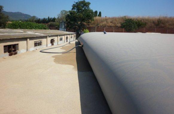 Cisterna par efluentes 500 m3