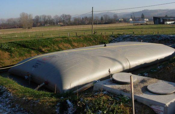 Cisterna par efluentes 100 m3