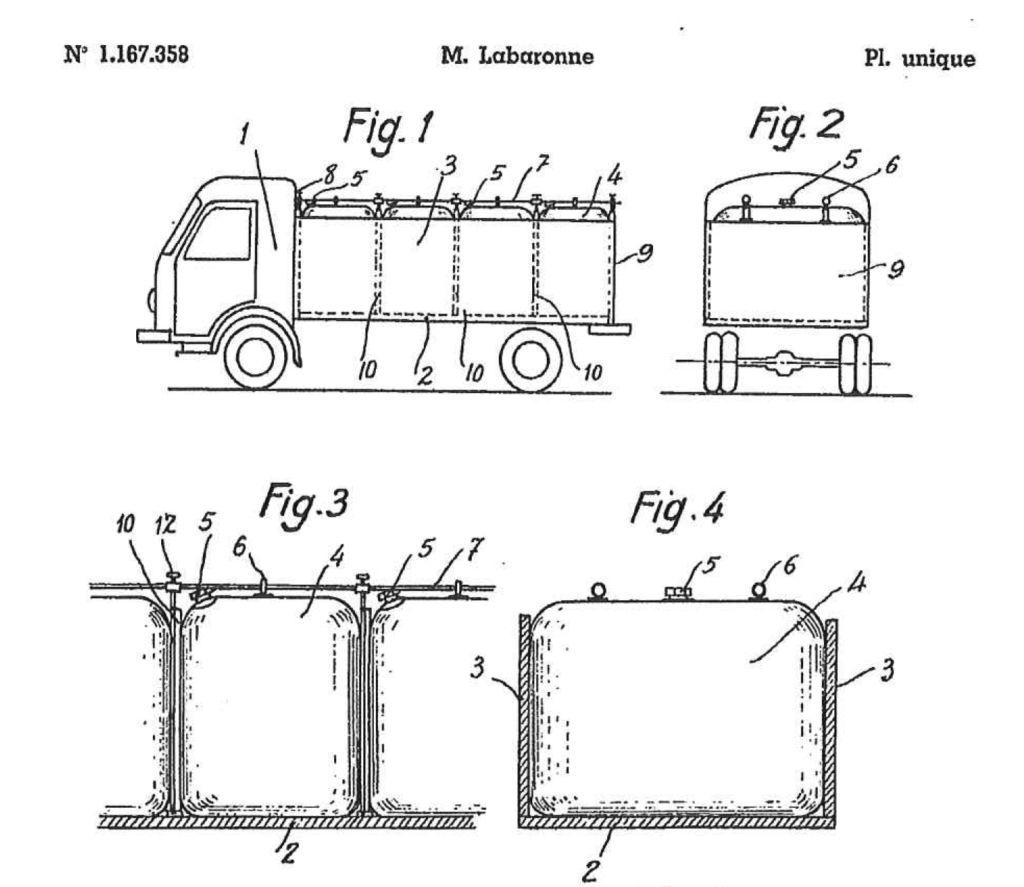 Presentación de la 1ª patente de invención