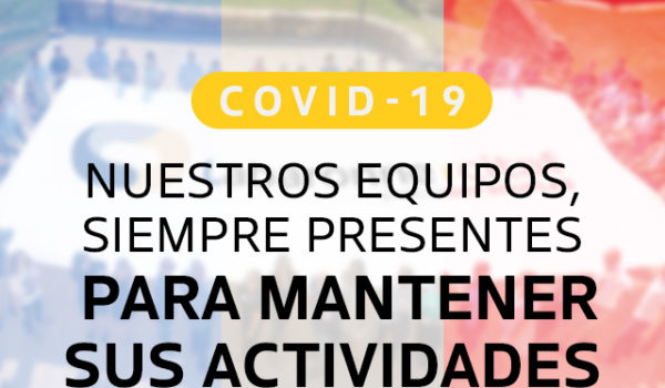 COVID-19: ¡siempre a su lado!